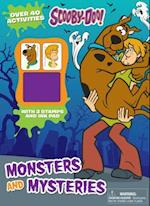 Scooby-Doo Monsters and Mysteries [With Ink Pad and Stamp Pad] (Activity Book with Ink Pad)