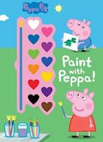 Peppa Pig Paint With Peppa! af Parragon Books Ltd