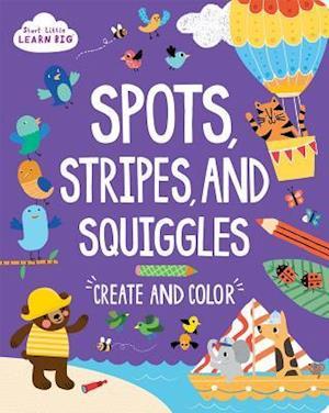 Bog, paperback Spots, Stripes and Squiggles