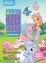 Disney Whisker Haven Tales with the Palace Pets Bunnies and Blooms [With 4 Crayons] (Color Activity With Crayons)