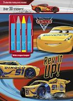 Disney Pixar Cars 3 (Color Activity With Crayons)