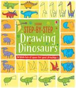 Step-by-Step Drawing Book Dinosaurs (Step by Step Drawing Book)