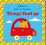 Things That Go (Fold Out Books)
