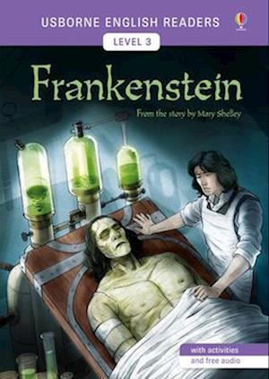 Bog, paperback Usborne English Readers Level 3: Frankenstein af Mairi Mackinnon