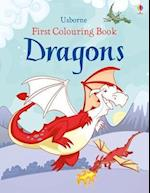 First Colouring Book Dragons (First Colouring Books)