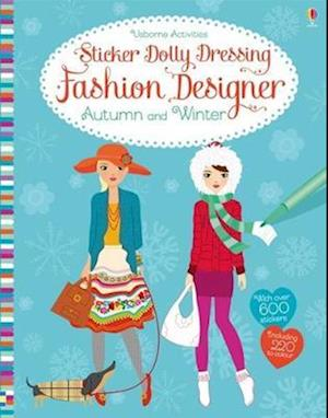 Sticker Dolly Dressing Fashion Designer Autumn and Winter Collection
