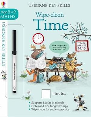 Wipe-Clean Time 8-9