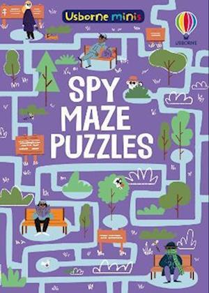 Spy Maze Puzzles