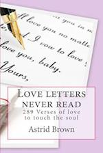 Love Letters Never Read af Astrid Brown