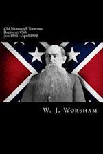 Old Nineteenth Tennessee Regiment, CSA af W. J. Worsham