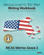 Massachusetts Test Prep Writing Workbook McAs Writing, Grade 2 af Test Master Press Massachusetts