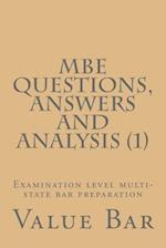MBE Questions, Answers and Analysis (1)