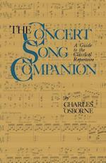 Concert Song Companion