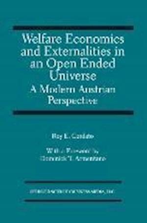 Welfare Economics and Externalities In An Open Ended Universe : A Modern Austrian Perspective