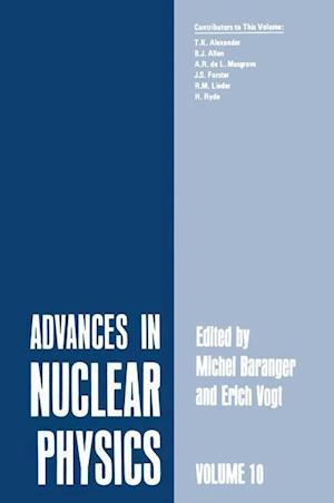 Advances in Nuclear Physics : Volume 10