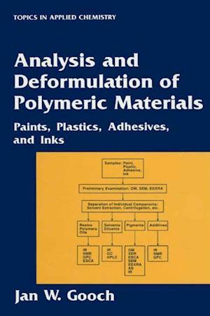 Analysis and Deformulation of Polymeric Materials: Paints, Plastics, Adhesives, and Inks