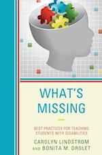 What's Missing af Bonita M. Drolet, Carolyn Lindstrom