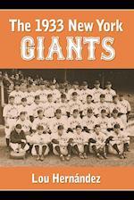 The 1933 New York Giants