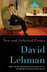 David Lehman New and Selected Poems af David Lehman
