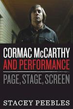 Cormac McCarthy and Performance af Satcey Peebles