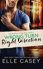 Wrong Turn, Right Direction af Elle Casey