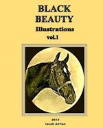 Black Beauty Illustrations af Iacob Adrian