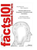 Statistical Methods for Geography, A Students Guide