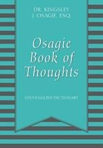 Osagie Book of Thoughts