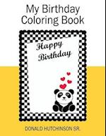 My Birthday Coloring Book