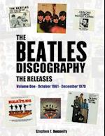 The Beatles Discography - The Releases: Volume One - October 1961 - December 1970
