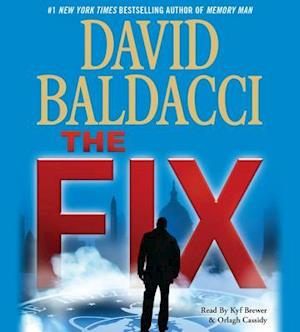 Lydbog, CD The Fix af David Baldacci
