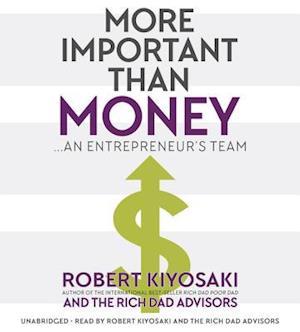 Lydbog CD More Important Than Money af Robert T. Kiyosaki