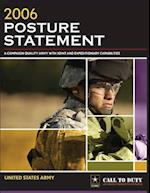 2006 Posture Statement af United States Army