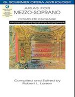 Arias for Mezzo-Soprano Complete Package (G. SCHIRMER OPERA ANTHOLOGY)