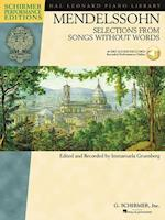 Mendelssohn - Selections from Songs Without Words