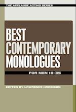 Best Contemporary Monologues for Men 18-35 af Lawrence Harbison