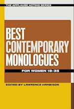 Best Contemporary Monologues for Women 18-35 af Lawrence Harbison
