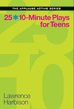 25 10-Minute Plays for Teens af Lawrence Harbison