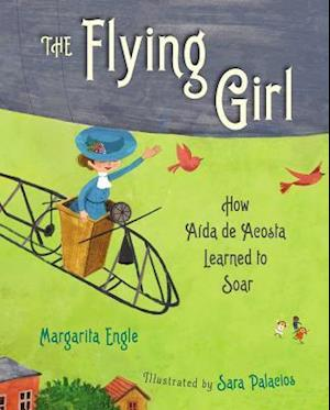 Bog, hardback The Flying Girl af Margarita Engle