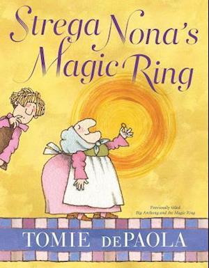 Bog, hardback Strega Nona's Magic Ring af Tomie Depaola