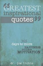 Greatest Inspirational Quotes