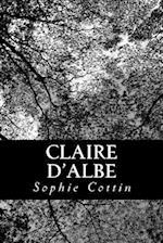 Claire D'Albe af Sophie Cottin
