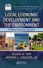 Local Economic Development and the Environment af Jr. Jeffery L. Osgood
