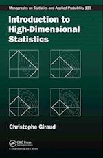 Introduction to High-Dimensional Statistics (Chapman & Hall/CRC Monographs on Statistics & Applied Probability, nr. 138)