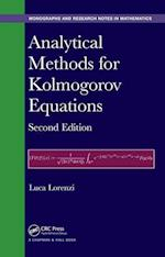 Analytical Methods for Kolmogorov Equations af Luca Lorenzi