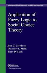 Application of Fuzzy Logic to Social Choice Theory (Monographs and Research Notes in Mathematics)