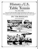 History of U.S. Table Tennis Volume 12