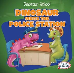 Dinosaur Visits the Police Station