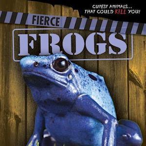 Bog, paperback Fierce Frogs af Eleanor Snyder