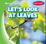 Let's Look at Leaves (We Love Spring)